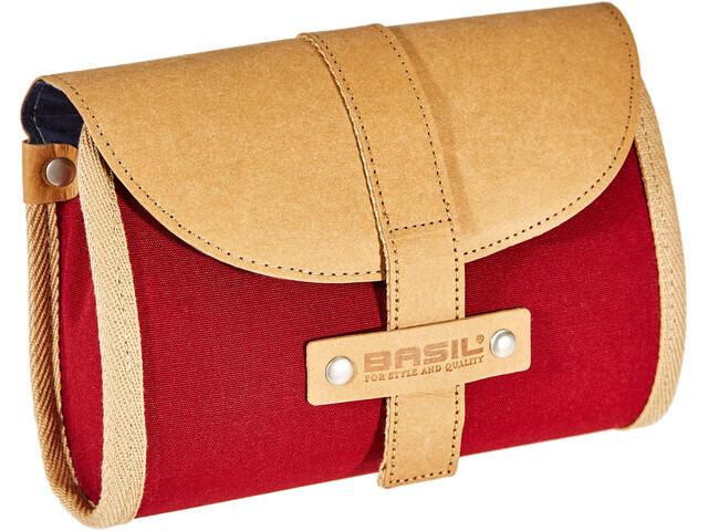 Basil Portland Saddle Bag Damen dunkelrot